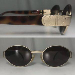 Vintage 90s Christian Dior Austria Logo Sunglasses